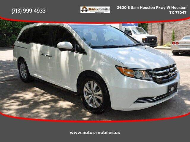 2014 Honda Odyssey for sale at AUTOS-MOBILES in Houston TX