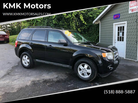 2010 Ford Escape for sale at KMK Motors in Latham NY