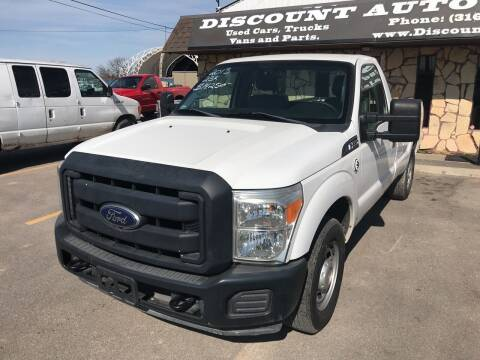 2013 Ford F-250 Super Duty for sale at Discount Auto Sales in Wichita KS
