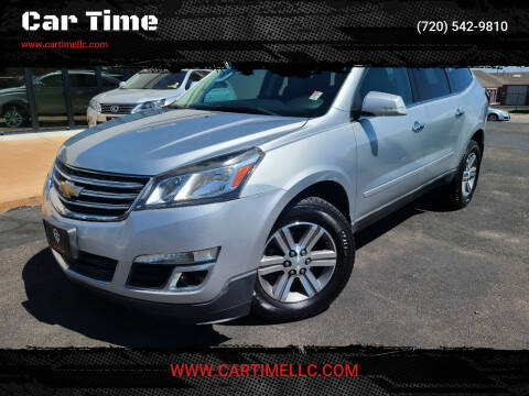 2015 Chevrolet Traverse for sale at Car Time in Denver CO