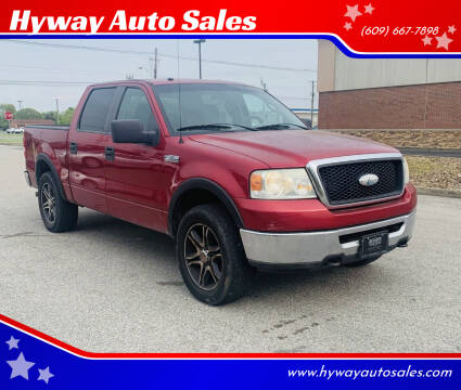 2008 Ford F-150 for sale at Hyway Auto Sales in Lumberton NJ