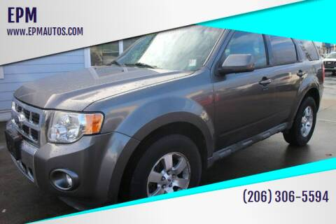 2009 Ford Escape for sale at EPM in Auburn WA