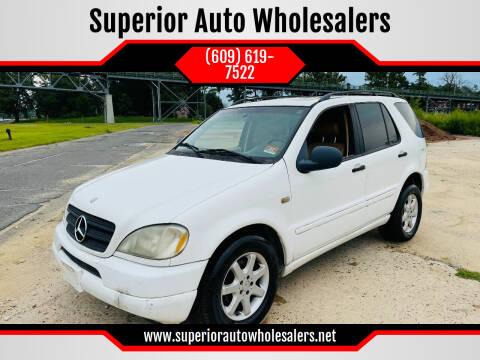 1999 Mercedes-Benz M-Class for sale at Superior Auto Wholesalers in Burlington NJ