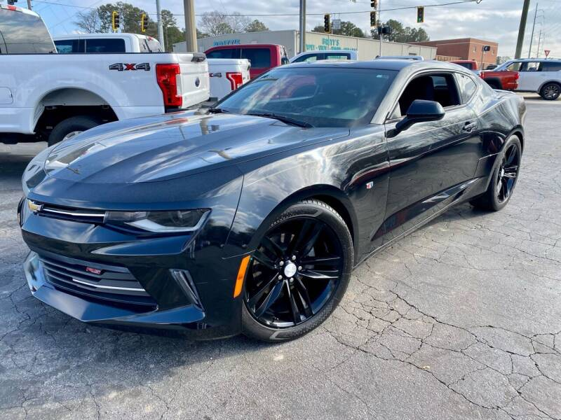 2018 Chevrolet Camaro for sale at Lux Auto in Lawrenceville GA