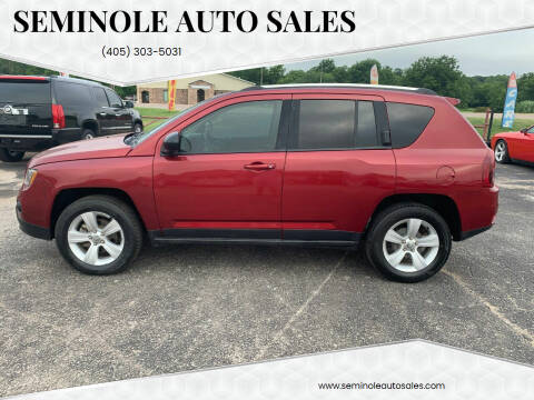 2014 Jeep Compass for sale at Seminole Auto Sales in Seminole OK