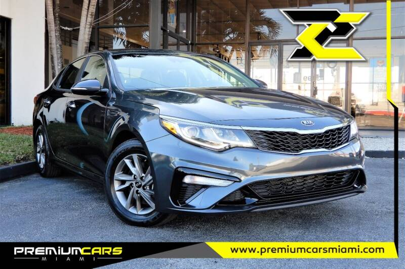 2020 Kia Optima for sale at Premium Cars of Miami in Miami FL