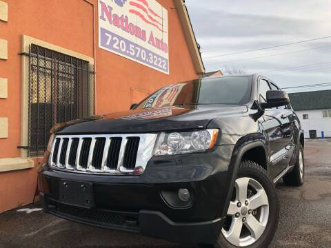 2012 Jeep Grand Cherokee for sale at Nations Auto Inc. II in Denver CO