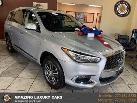 2017 Infiniti QX60 for sale at Amazing Luxury Cars in Snellville GA