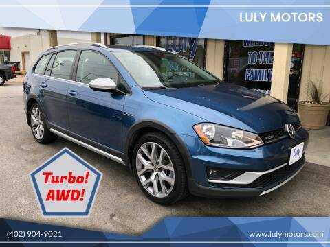 2017 Volkswagen Golf Alltrack for sale at Luly Motors in Lincoln NE