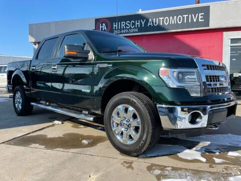 2014 Ford F-150 for sale at Hirschy Automotive in Fort Wayne IN