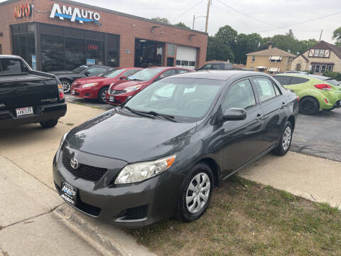 2009 Toyota Corolla for sale at AM AUTO SALES LLC in Milwaukee WI