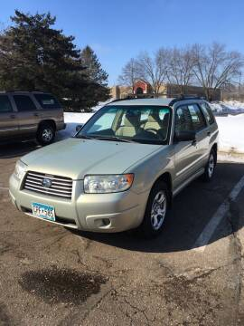 2006 Subaru Forester for sale at Specialty Auto Wholesalers Inc in Eden Prairie MN