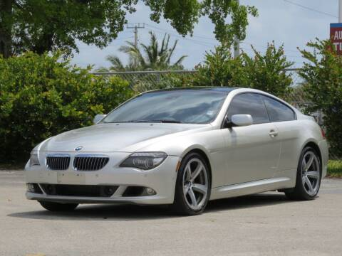 2008 BMW 6 Series for sale at DK Auto Sales in Hollywood FL