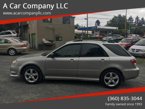2006 Subaru Impreza for sale at A Car Company LLC in Washougal WA