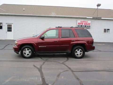 2004 Chevrolet TrailBlazer for sale at Plainfield Auto Sales, LLC in Plainfield WI