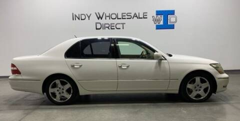 2005 Lexus LS 430 for sale at Indy Wholesale Direct in Carmel IN
