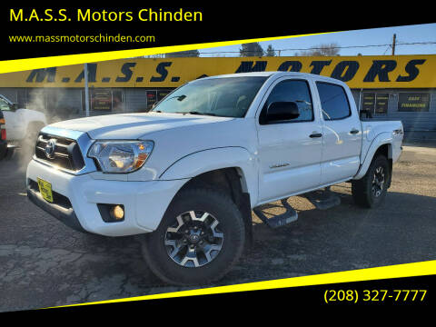 2015 Toyota Tacoma for sale at M.A.S.S. Motors Chinden in Garden City ID