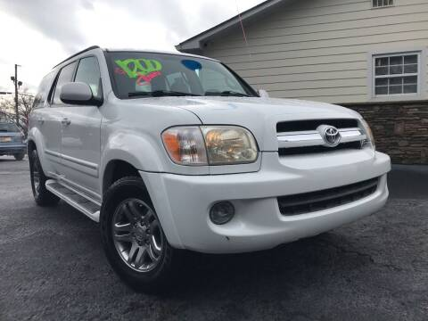 2005 Toyota Sequoia for sale at No Full Coverage Auto Sales in Austell GA
