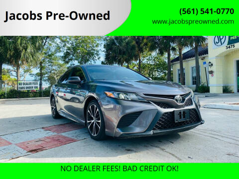 2018 Toyota Camry for sale at Jacobs Pre-Owned in Lake Worth FL
