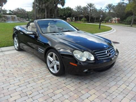 2006 Mercedes-Benz SL-Class for sale at AUTO HOUSE FLORIDA in Pompano Beach FL