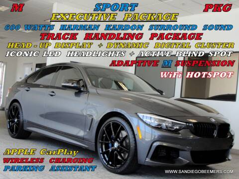 2019 BMW 4 Series for sale at SAN DIEGO BEEMERS in San Diego CA