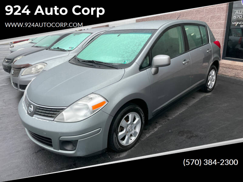 2009 Nissan Versa for sale at 924 Auto Corp in Sheppton PA