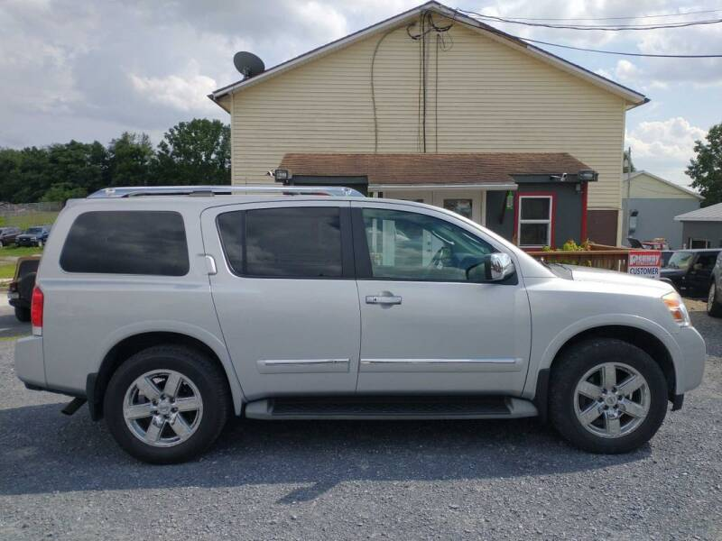 2011 Nissan Armada for sale at PENWAY AUTOMOTIVE in Chambersburg PA