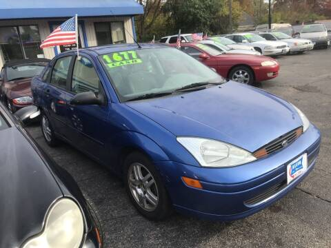 2002 Ford Focus for sale at Klein on Vine in Cincinnati OH