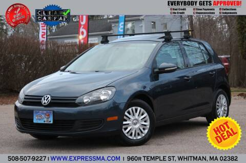 2010 Volkswagen Golf for sale at Auto Sales Express in Whitman MA