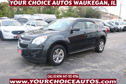2012 Chevrolet Equinox for sale at Your Choice Autos - Waukegan in Waukegan IL