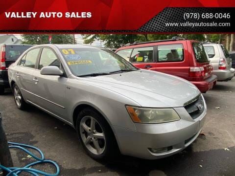 2007 Hyundai Sonata for sale at VALLEY AUTO SALES in Methuen MA