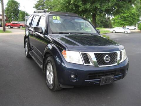 2008 Nissan Pathfinder for sale at Euro Asian Cars in Knoxville TN