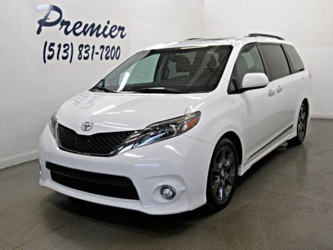 2016 Toyota Sienna for sale at Premier Automotive Group in Milford OH