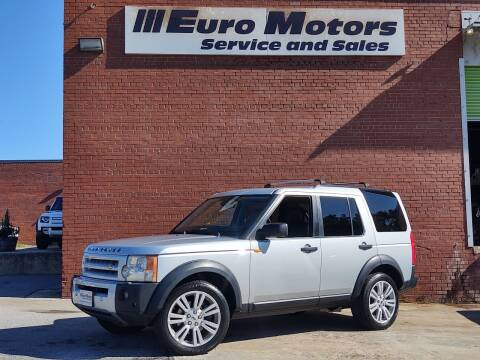 2008 Land Rover LR3 for sale at Euro Motors LLC in Raleigh NC
