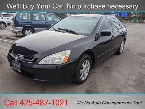 2005 Honda Accord for sale at Platinum Autos in Woodinville WA
