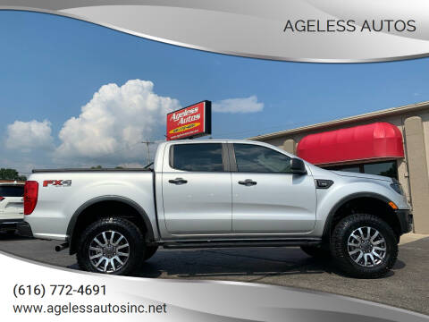 2019 Ford Ranger for sale at Ageless Autos in Zeeland MI