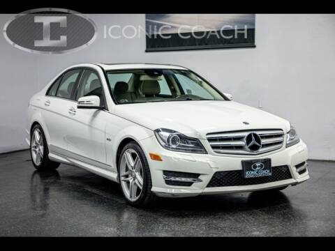 2012 Mercedes-Benz C-Class for sale at Iconic Coach in San Diego CA