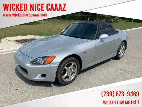 2003 Honda S2000 for sale at WICKED NICE CAAAZ in Cape Coral FL