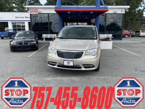 2015 Chrysler Town and Country for sale at 1 Stop Auto in Norfolk VA