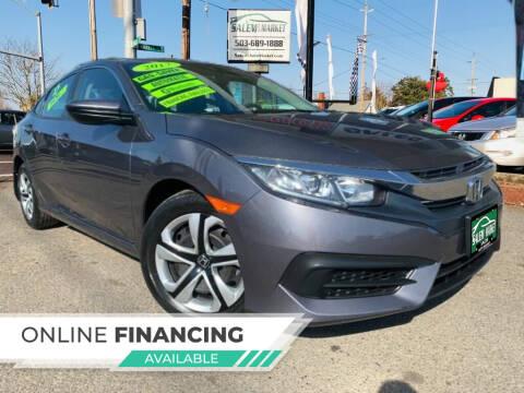 2017 Honda Civic for sale at Salem Auto Market in Salem OR