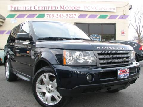 2006 Land Rover Range Rover Sport for sale at Prestige Certified Motors in Falls Church VA