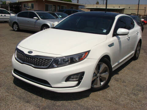 2016 Kia Optima Hybrid for sale at L.A. Motors in Azusa CA