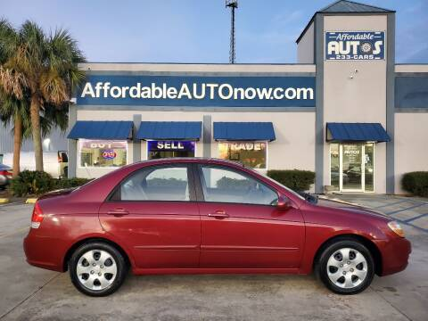 2007 Kia Spectra for sale at Affordable Autos in Houma LA