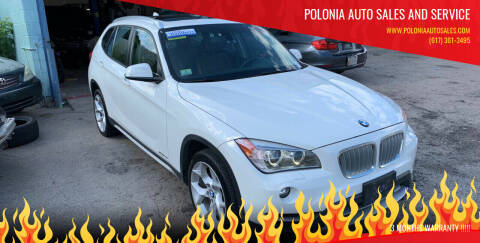 2014 BMW X1 for sale at Polonia Auto Sales and Service in Hyde Park MA