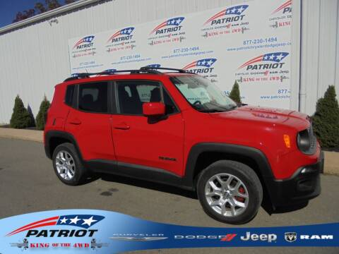 2017 Jeep Renegade for sale at PATRIOT CHRYSLER DODGE JEEP RAM in Oakland MD