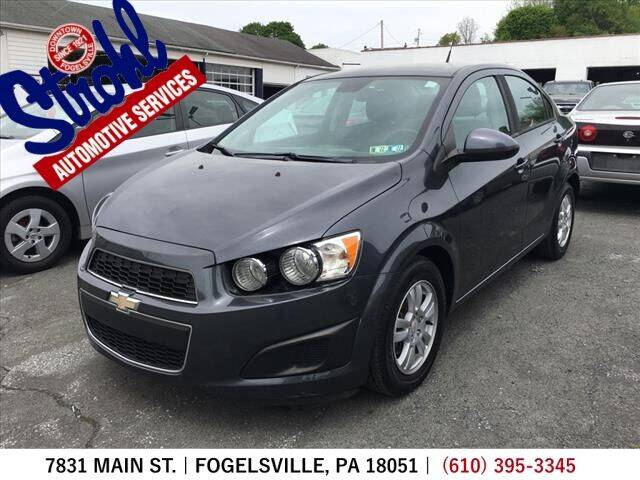2012 Chevrolet Sonic for sale at Strohl Automotive Services in Fogelsville PA