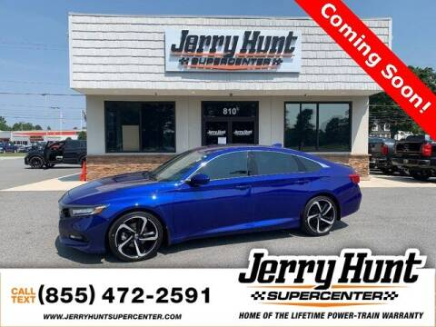 2019 Honda Accord for sale at Jerry Hunt Supercenter in Lexington NC