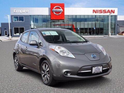 2015 Nissan LEAF for sale at EMPIRE LAKEWOOD NISSAN in Lakewood CO