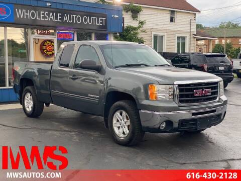 2011 GMC Sierra 1500 for sale at MWS Wholesale  Auto Outlet in Grand Rapids MI