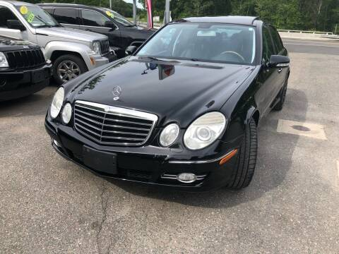 2008 Mercedes-Benz E-Class for sale at TOLLAND CITGO AUTO SALES in Tolland CT